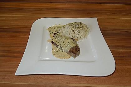 Rindersteaks mit Senf-Estragon Sauce 5