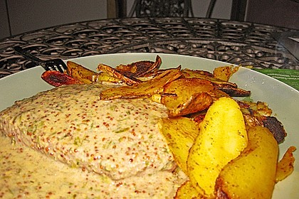 Rindersteaks mit Senf-Estragon Sauce 8