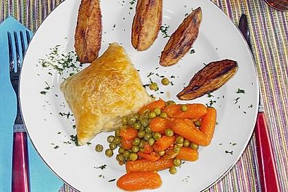 Kartoffelspalten mit Honig - Senf - Marinade 5