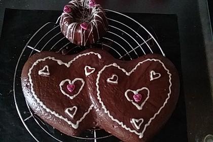 Isas leichter Schoko - Mandel - Kuchen 1
