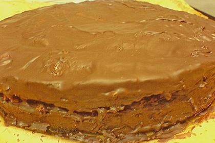 Isas leichter Schoko - Mandel - Kuchen 8