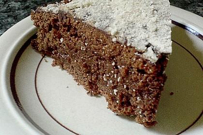 Isas leichter Schoko - Mandel - Kuchen