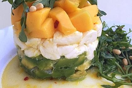 Avocado-Mozzarella-Salat mit Mango 27
