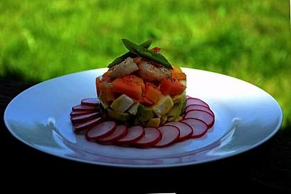 Avocado-Mozzarella-Salat mit Mango 41