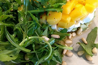 Avocado-Mozzarella-Salat mit Mango 23