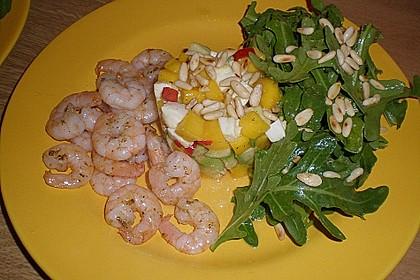 Avocado-Mozzarella-Salat mit Mango 66