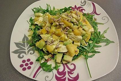 Avocado-Mozzarella-Salat mit Mango 57