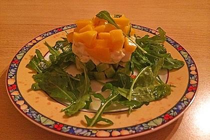 Avocado-Mozzarella-Salat mit Mango 51