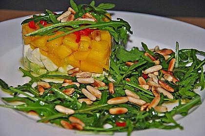 Avocado-Mozzarella-Salat mit Mango 22