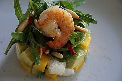 Avocado-Mozzarella-Salat mit Mango 12