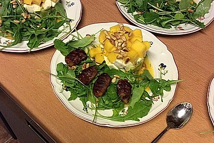 Avocado-Mozzarella-Salat mit Mango 61