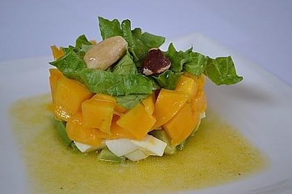 Avocado-Mozzarella-Salat mit Mango 17