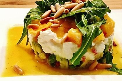 Avocado-Mozzarella-Salat mit Mango 18