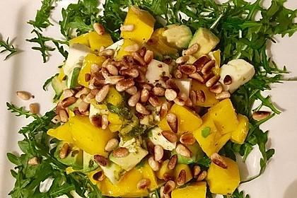 Avocado-Mozzarella-Salat mit Mango 64