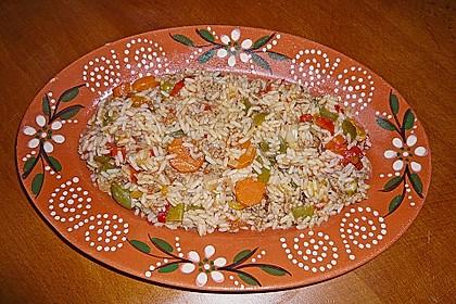 Hackfleischgemüsetopf mit Reis