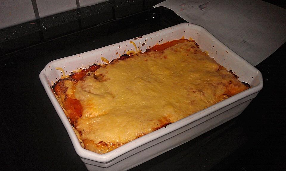 vegetarische lasagne von tanglez. Black Bedroom Furniture Sets. Home Design Ideas