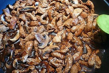 Hähnchen - Geschnetzeltes mit Balsamico 9