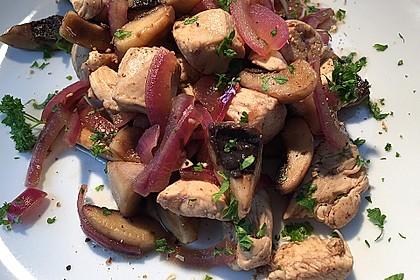 Hähnchen - Geschnetzeltes mit Balsamico 2