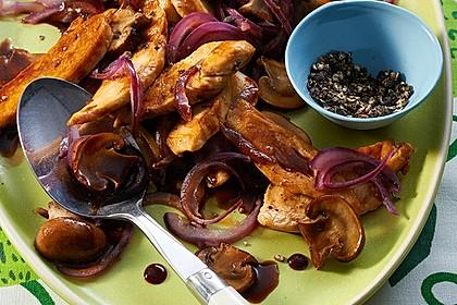Hähnchen - Geschnetzeltes mit Balsamico 7