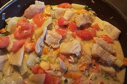 Fisch - Gemüse - Pfanne 1