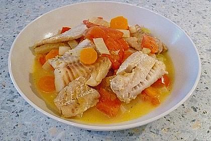 Fisch - Gemüse - Pfanne