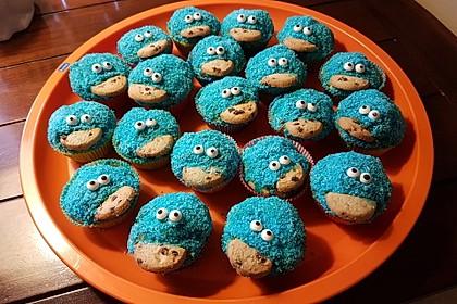 Krümelmonster-Muffins 68