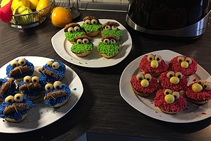 Krümelmonster-Muffins 61