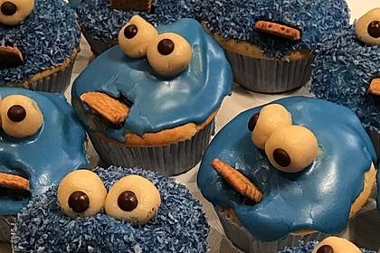 Krümelmonster-Muffins 64