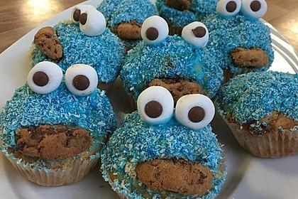 Krümelmonster-Muffins 66