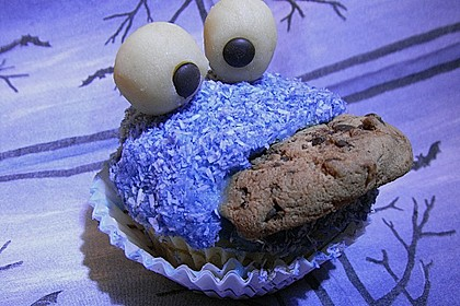 Krümelmonster-Muffins 111
