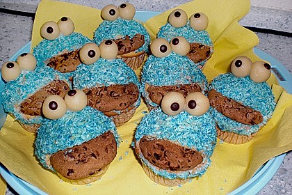 Krümelmonster-Muffins 90