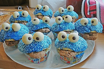 Krümelmonster-Muffins 302