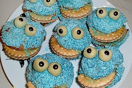Krümelmonster-Muffins 91
