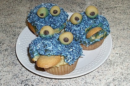 Krümelmonster-Muffins 467