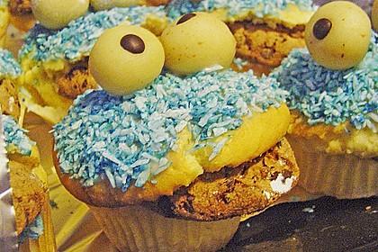 Krümelmonster-Muffins 398