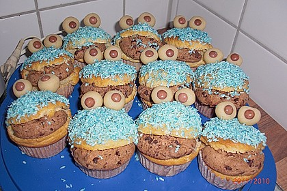 Krümelmonster-Muffins 279