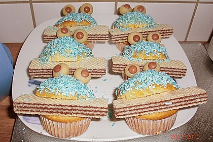 Krümelmonster-Muffins 462