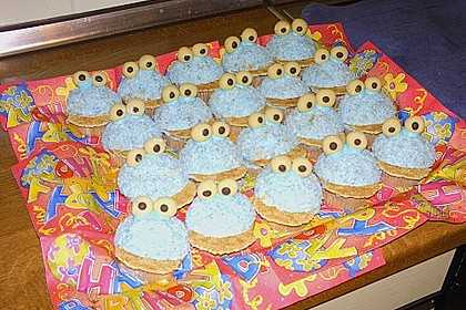 Krümelmonster-Muffins 464