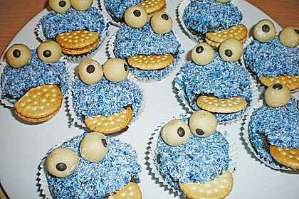 Krümelmonster-Muffins 148