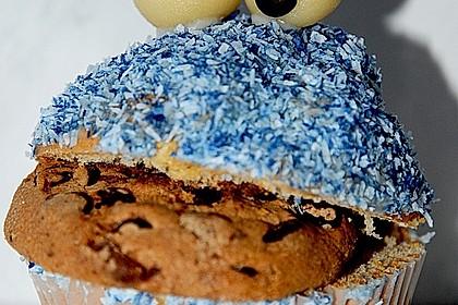 Krümelmonster-Muffins 100