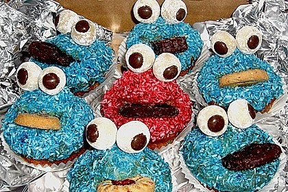 Krümelmonster-Muffins 487