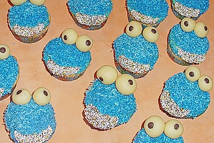 Krümelmonster-Muffins 110