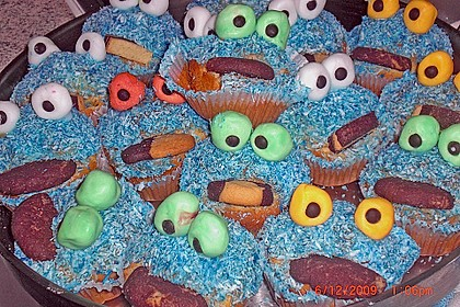 Krümelmonster-Muffins 482