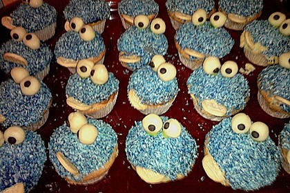 Krümelmonster-Muffins 461