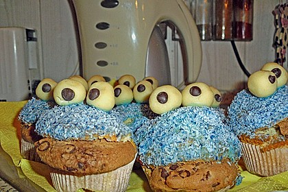 Krümelmonster-Muffins 281