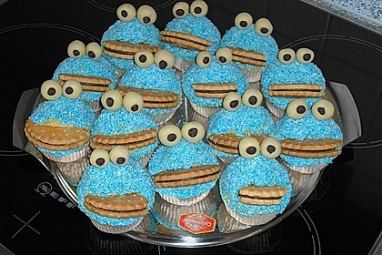 Krümelmonster-Muffins 54