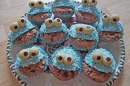 Krümelmonster-Muffins 260