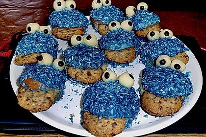 Krümelmonster-Muffins 338