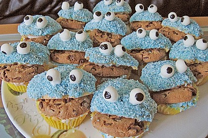 Krümelmonster-Muffins 258