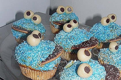 Krümelmonster-Muffins 125